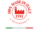 logo 100% made in Italy