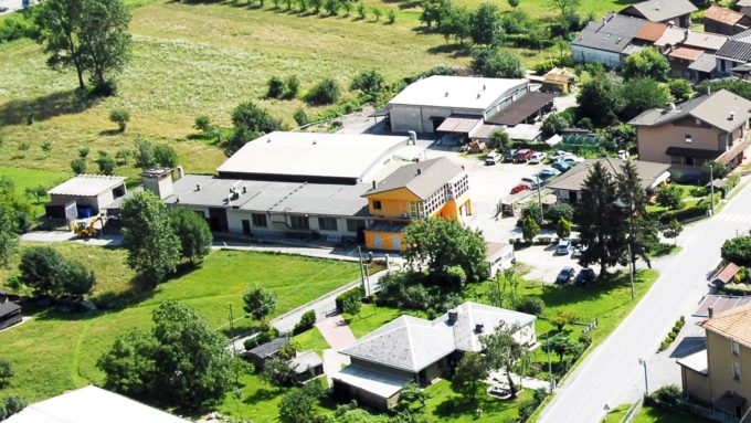 The operational headquarter of Anzola d'Ossola