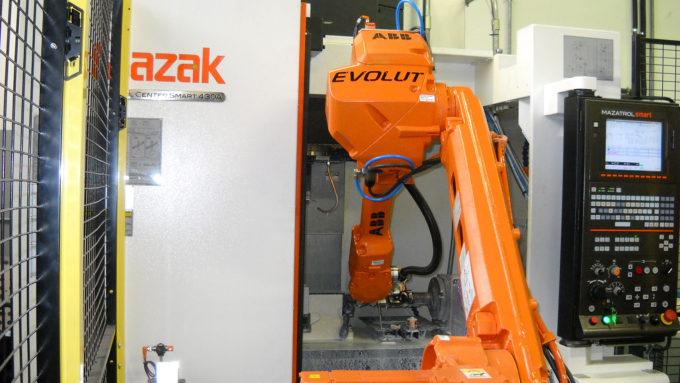 Uno dei nostri robot collaborativi