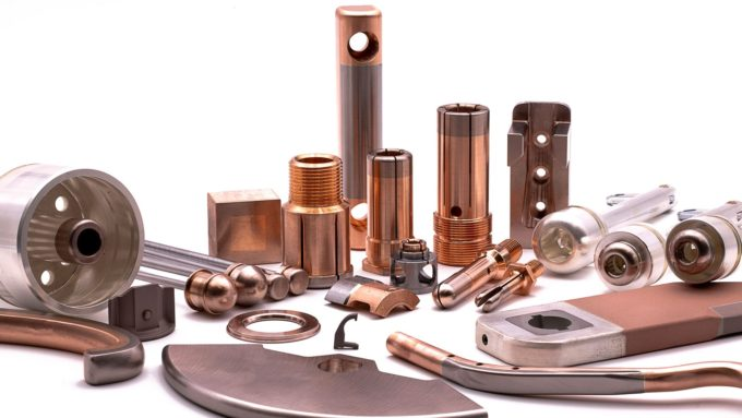Copper/Tungsten electrical contacts