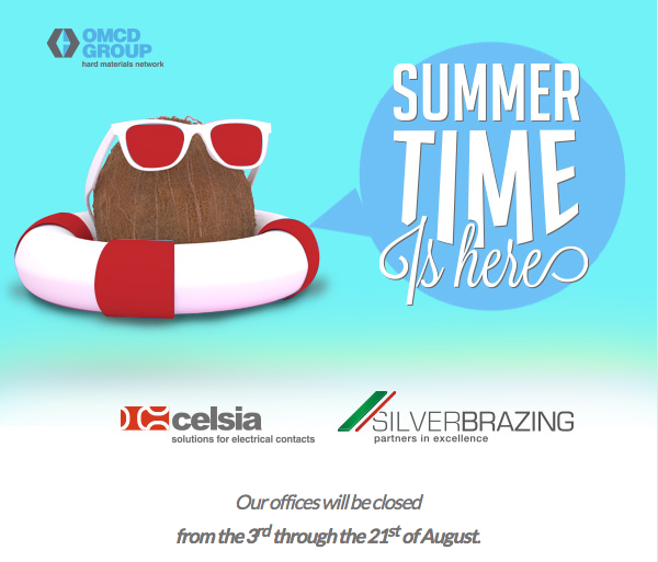 Our offices will be closed from the 3rd through the 21st of August.