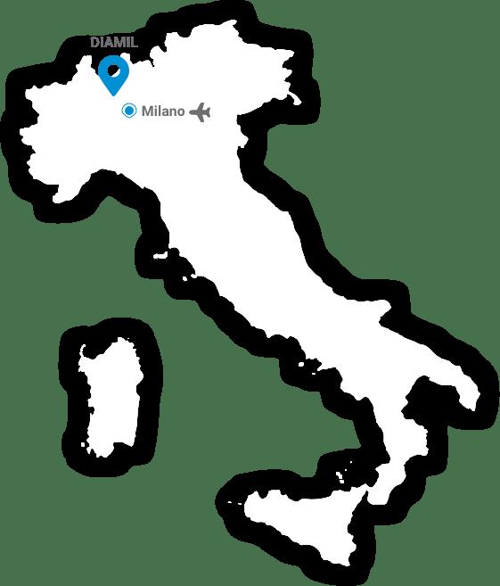 Diamil map
