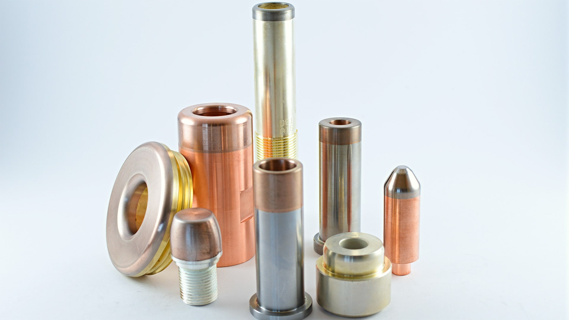 Copper and tungsten-copper electrical contacts