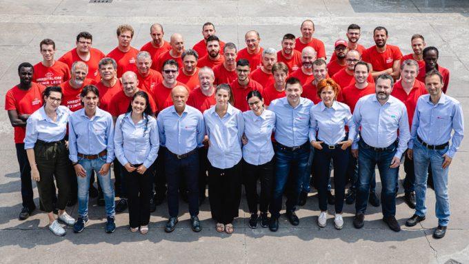 Harditalia's staff