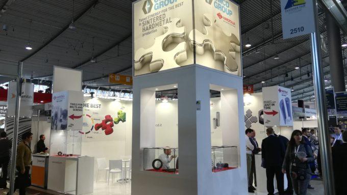 Harditalia's stand at Fastener fair 2019