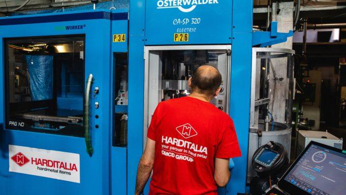 Pressa elettrica Osterwalder