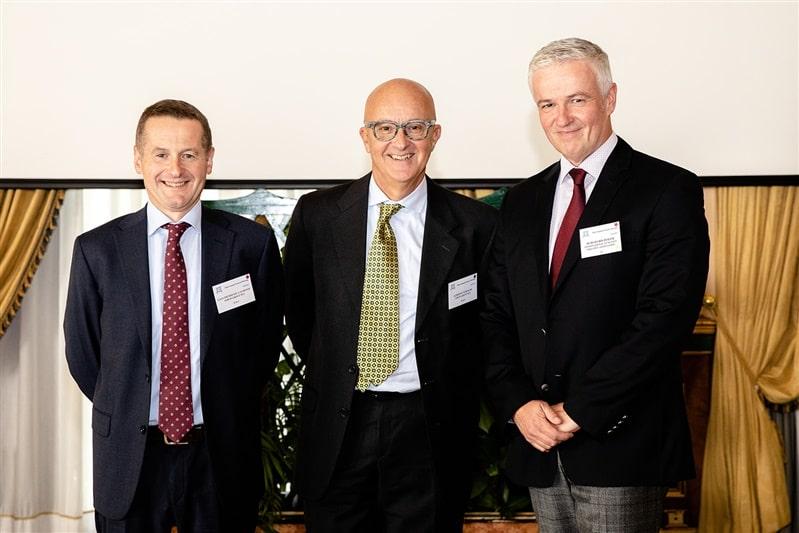 Mr. Tedeschi, Dr. De Gaudenzi, Mr. Burghard