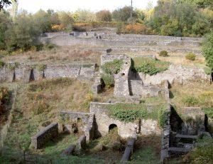 Dark Hill Ironworks ruins