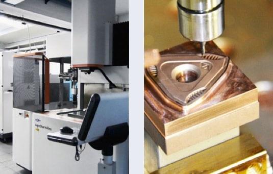 Elettroerosione metallo duro
