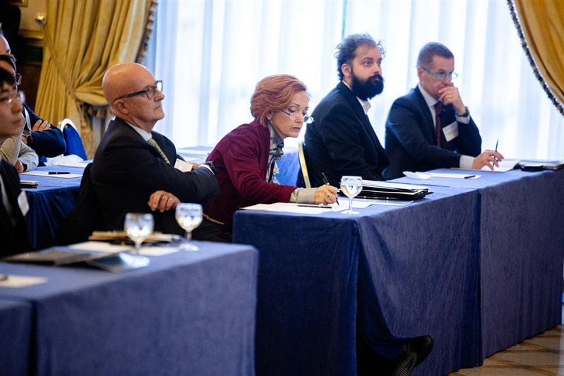 OMCD delegates at the conference