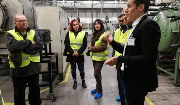Piemonte Fabbriche Aperte - FURNACE DEPARTMENT