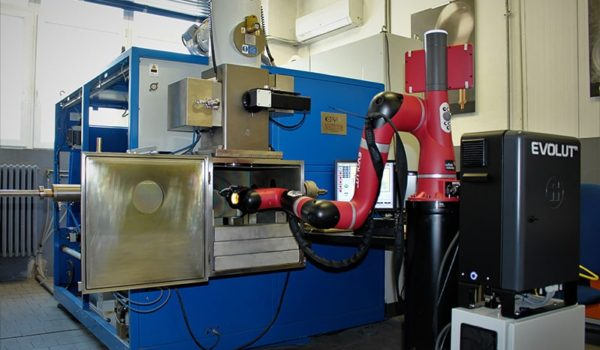 A Sawyer Robot supporting Celsia Electron Beam Welding