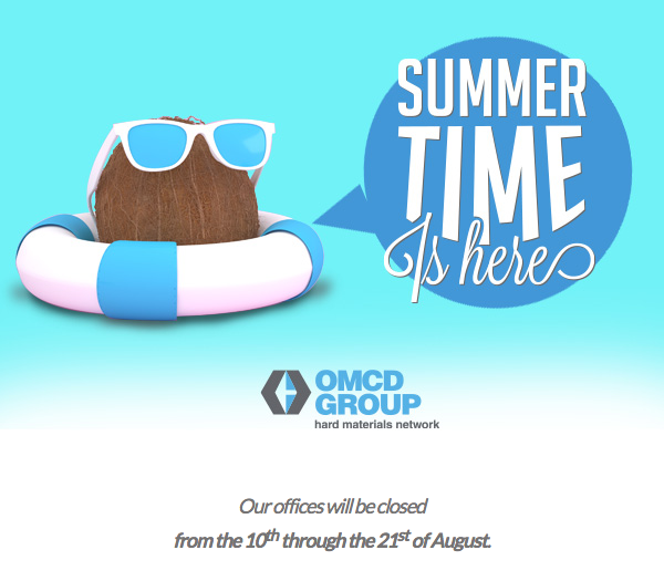 Our offices will be closed from the 10th through the 21st of August.