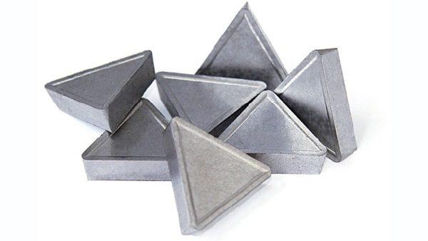 Utensili da taglio inserti in metallo duro ISO