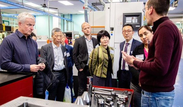 ITIA delegates visit Scleros plant